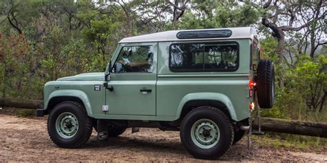 old black land rover land rover defender production to end january 2016
