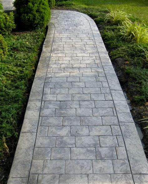 top 28 cement walkways how to build concrete