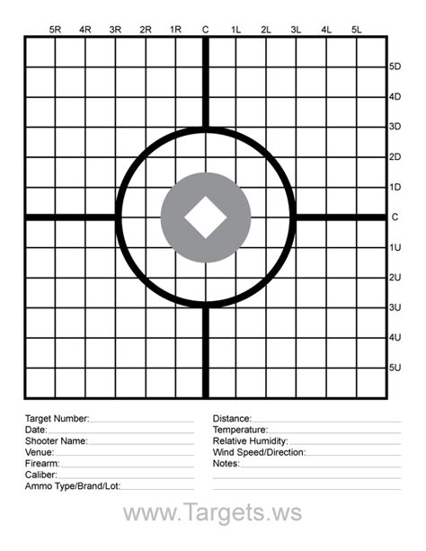 free printable moa targets targets print your own sight in shooting targets