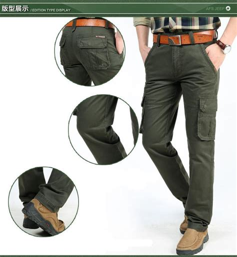 Mens Buffalo Outdoor Pant 78 Sz 34 100 Original afs jeep 2016 brand new mens cargo multi