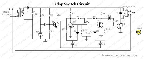 clap to turn off lights the clapper circuit diagram circuit soldering iron