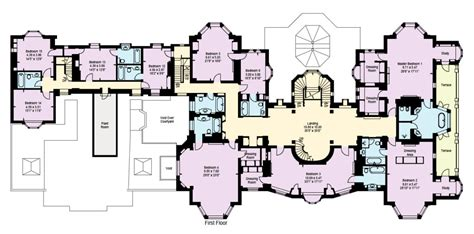 mansion blue prints mega mansion floor plans houses flooring picture ideas