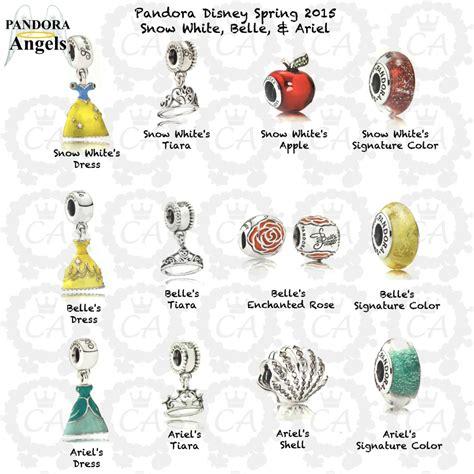 Disney Princess Charms Pandora | 2015 disney parks charms pandora