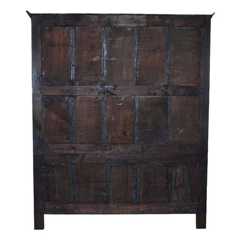 Century Cabinets by 17th Century Jacobean Oakwood Cabinet Or Wardrobe For Sale