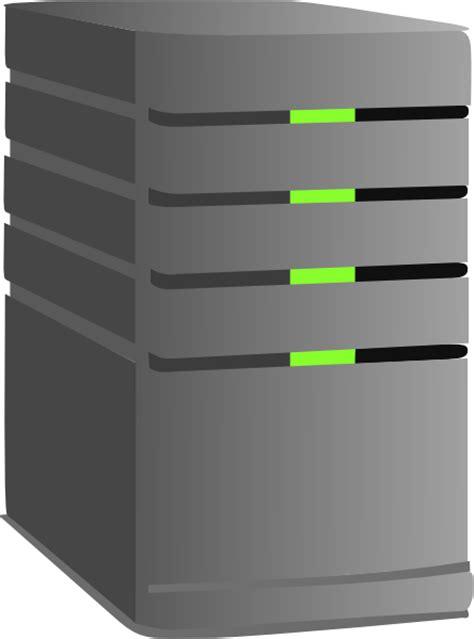 L Servers by Server Clip At Clker Vector Clip