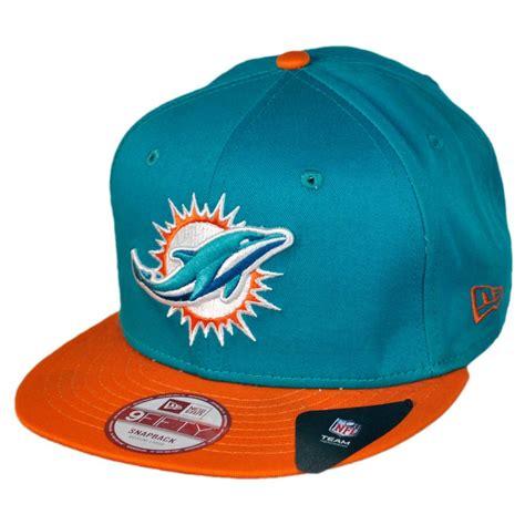 nfl hats new era new era miami dolphins nfl 9fifty snapback baseball cap