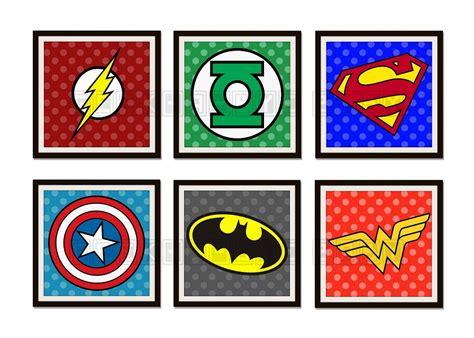 Marvel Home Decor by Superhero Logo Webimage Wm Jpg