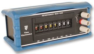decade resistance box time electronics 1040 time electronics decade box resistance 8 1ohm to 100mohm 1 farnell uk