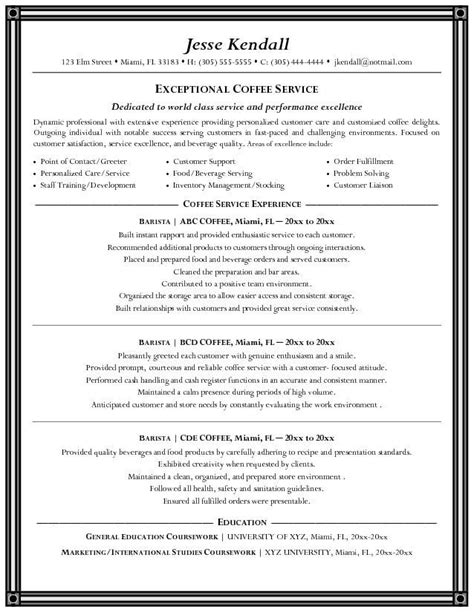 Resume For Bartending Position by Best Bartending Resume Exles This Is The Best