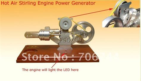 brand new stirling engine power electricity generator with