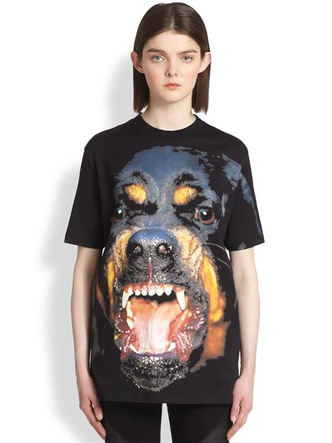 rottweiler clothing givenchy rottweiler t shirt in black lyst