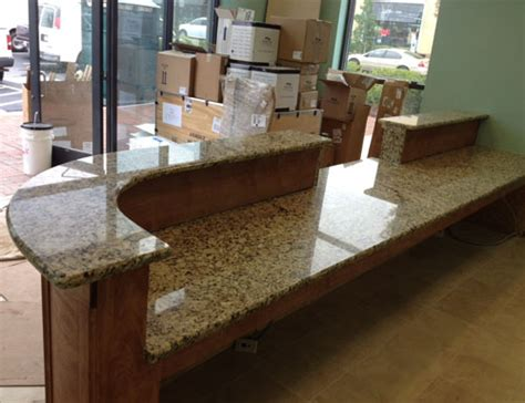 Business Countertops by Gallery Custom Granite Solutions
