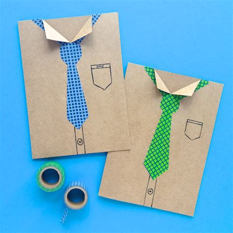 make a fathers day card omiyage blogs s day cards with washi
