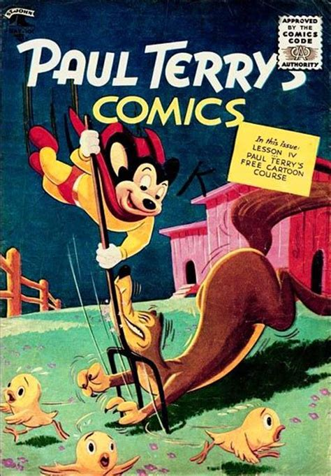 terrytoons the story of paul terry and his classic factory books paul terry s comics st mighty mouse on the cover