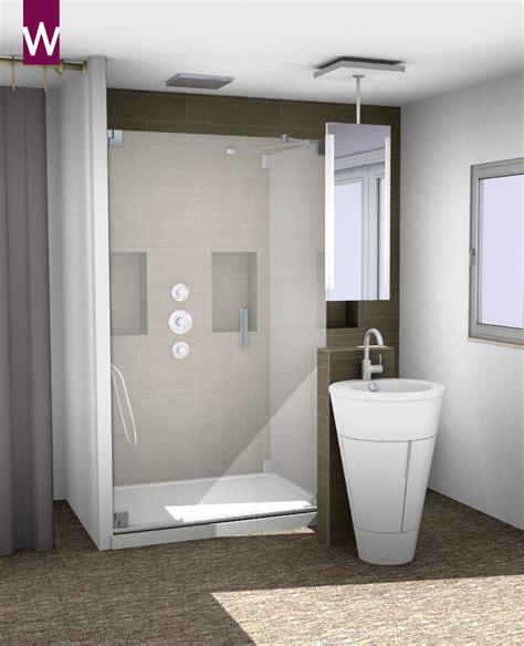 hele kleine badkamer inrichten douchen in de slaapkamer kleine badkamers