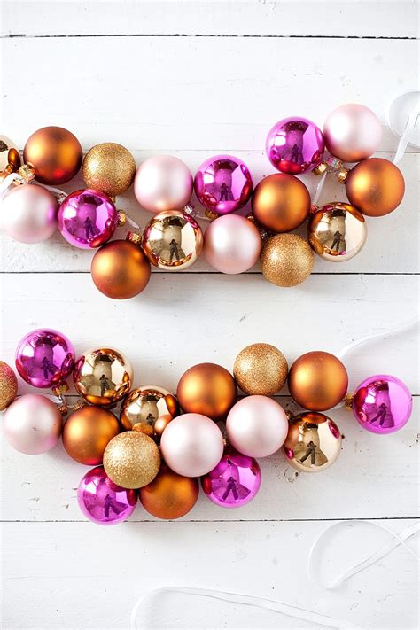 christmas garlandballs 20 festive diy garlands that are easy to craft