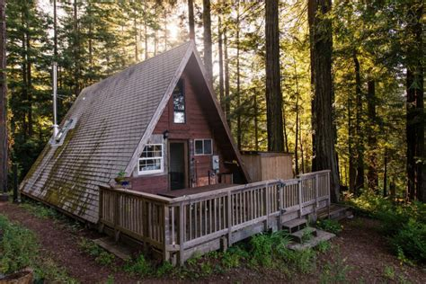Small A Frame Cabin by Tiny House Alternative The Tiny A Frame Cabin Core77
