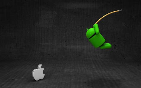 wallpaper android apple android vs apple wallpaper