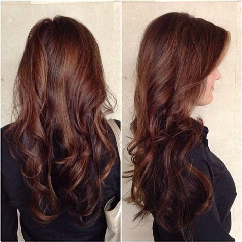 hairstyles women chocolate brown and caramel ends 2015 balayage hairstyles trends at blog vpfashion com