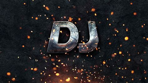 Dj Logo Wallpaper Desktop