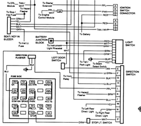 free headlight wiring diagram for 1991 gmc solved