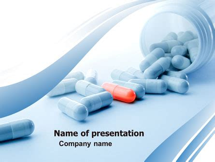 Drug Therapy Presentation Template For Powerpoint And Pharmaceutical Powerpoint Templates