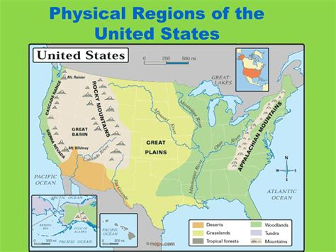 physical map of the united states great plains introduction to north america ppt video online download