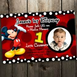 free printable mickey mouse invitatons birthday drevio invitations design