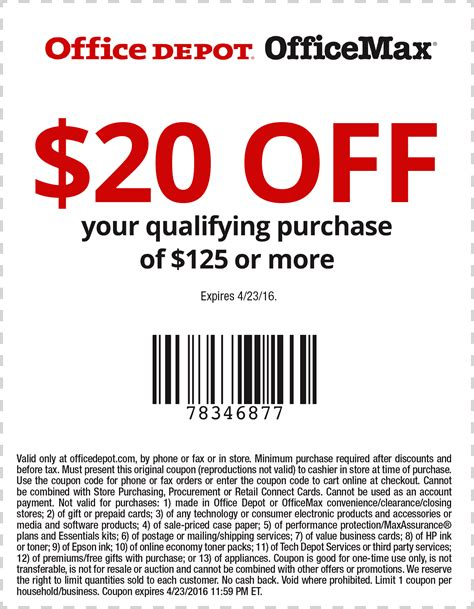 office depot coupons in store for technology office depot coupons 25 off 150 at office depot or
