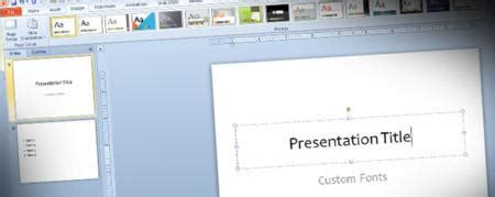 define themes in powerpoint 2010 how to create new theme fonts in powerpoint 2010