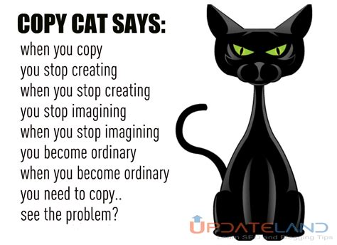 Copy Cat Meme - need blogging ideas to make your blogging journey awesome