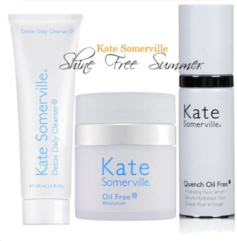 Kate Somerville Detox Daily Cleanser Dupe by Katesomerville Shine Free Summer Product Review