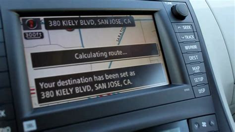 Toyota Navigation How To Operate Your Toyota Navigation System Easily