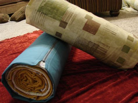 sewing pattern yoga bolster lerna clearman make a bolster