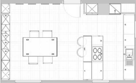 Planung Küche by K 252 Che Grundriss Offene K 252 Che Kochinsel Grundriss Offene