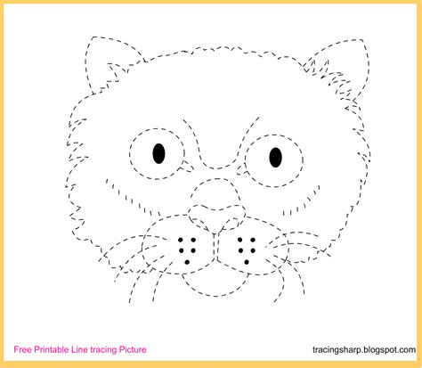 printable tracing images free line tracing worksheets for preschoolers 1000
