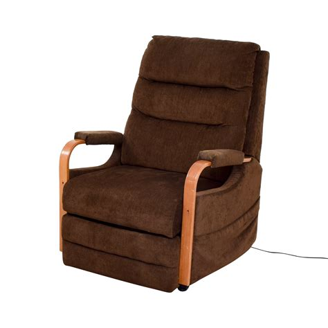 bobs furniture lift chairs recliner bobs atlas leather 3 left arm facing