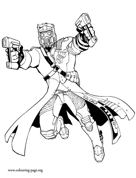 Star Lord Coloring Page | lego star lord coloring coloring pages