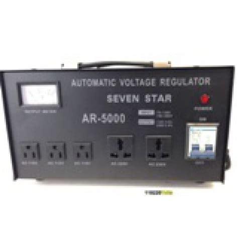 Sharpener F5 Transformer 5000 Watts Step Up And Voltage Converter Regulator