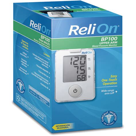 Monitor Relion 2015 Relion Blood Pressure Monitor
