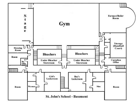 school building floor plan school floor plans