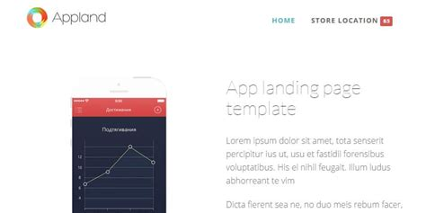 Bootstrap Themes Bypeople 59 Submissions Bootstrap App Landing Page Template