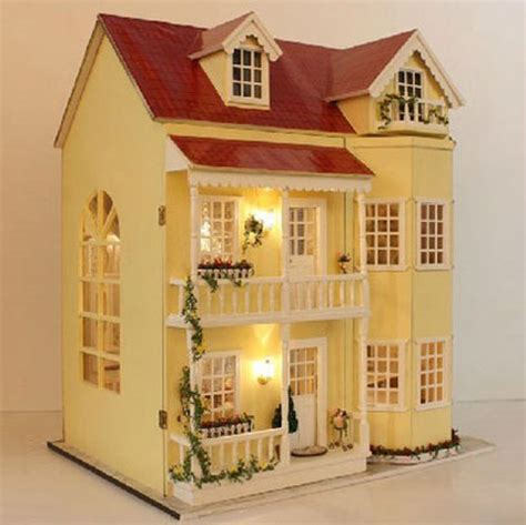 Handmade Dollhouse For Sale - get cheap handmade doll houses for sale aliexpress
