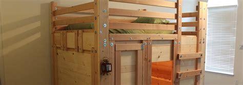 fort beds bunk bed plans bed fort plans loft bed plans