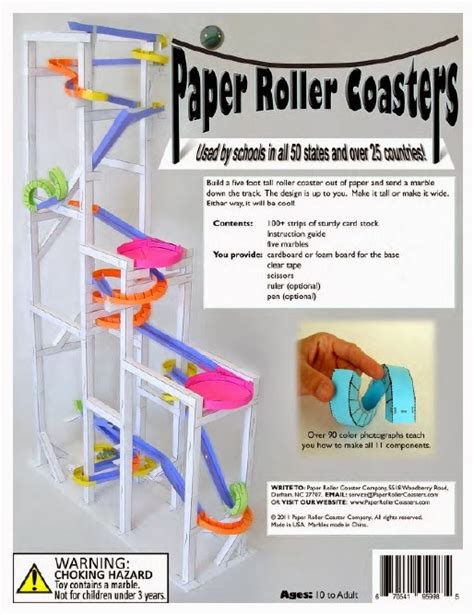 index card roller coaster templates pdf paper roller coaster template design templates print
