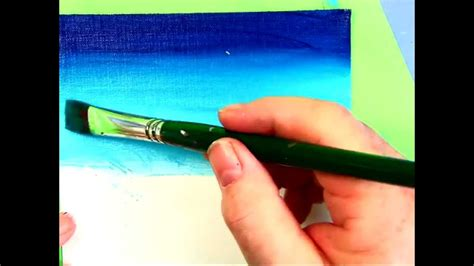 acrylic paint translate how to smoothly blend from to light with acrylic tips