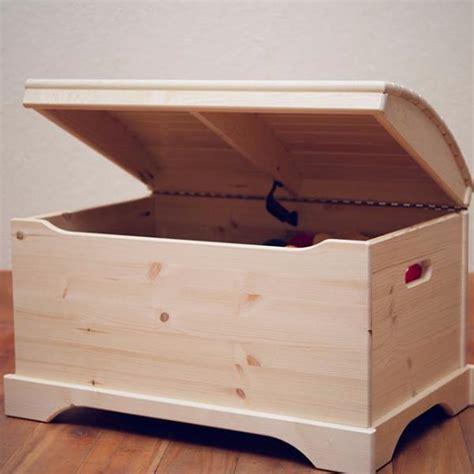 wooden toy box built     captains chest
