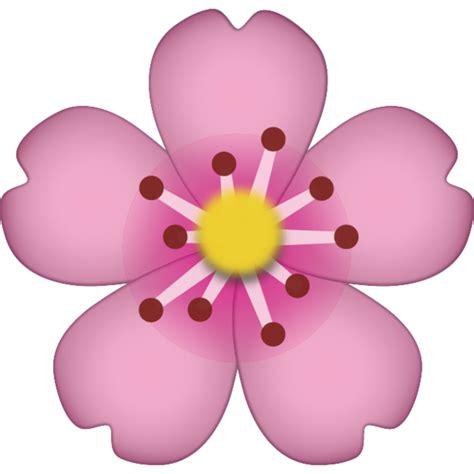 Emoji Bunga Layu | download cherry blossom emoji icon emoji island