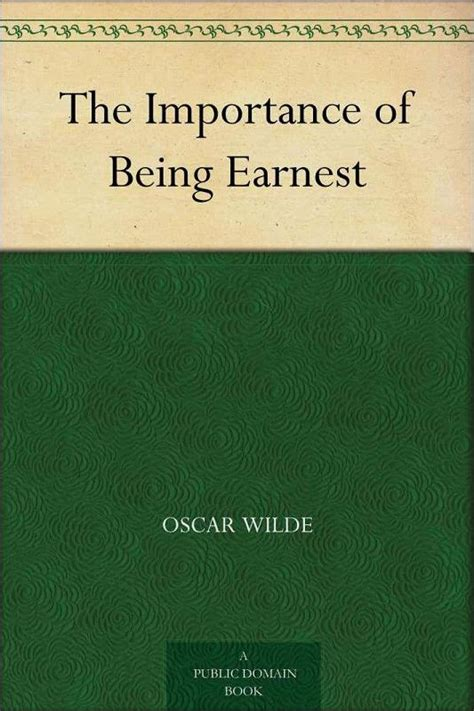 the importance of being defying gravity the importance of being earnest