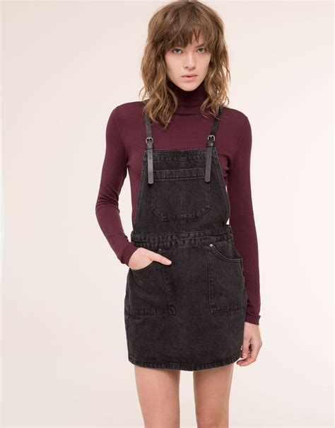 25 best ideas about black denim dungarees on